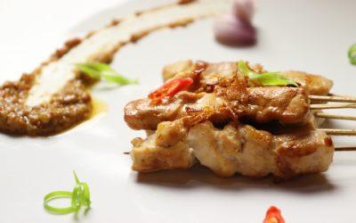 Recette de brochettes sauce Satay